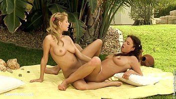 zoe and stracy hot lesbian humping outdoors by.