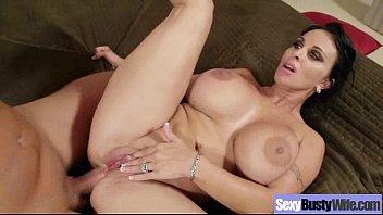 big tits horny wife banged hard.