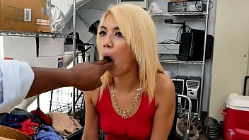 dick hungry slut takes boss bbc moaning with.