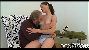 horny young sweetheart screwed by old.