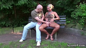 german big tits milf seduce stranger to fuck.