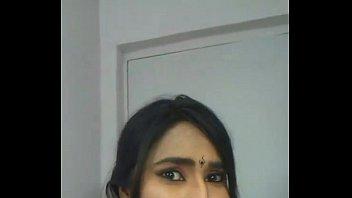 swathi janapamula in orange saree undress