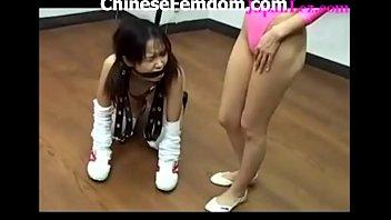 chinese femdom video