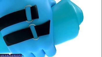 mlp futa blue vinyl lollipop