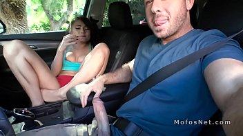 injured leg teen bangs stranger