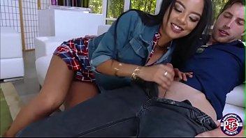 beautiful teen maya bijou sucks and fucks her.