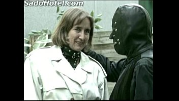 older german lady slave is fingering herself while.