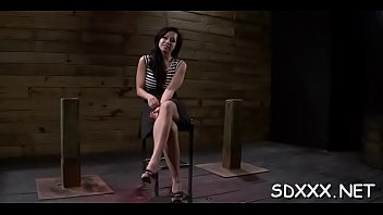 busty latina gets enslaved and drilled mercilessly by.
