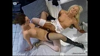 nylon rich lesbian sex in sexy stockings and.