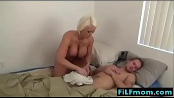 Step mom wants sleeping son cock - FREE Family Sex Videos at FiLFmom.com