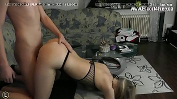 sexy russian blonde escort fucks with boy -.