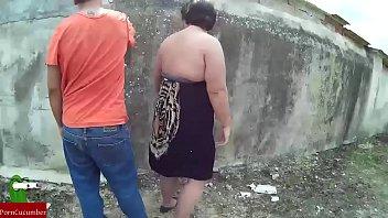 a esta pareja de gordos les gusta correrse.