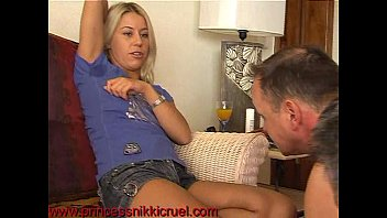 nikki thorne armpit licking