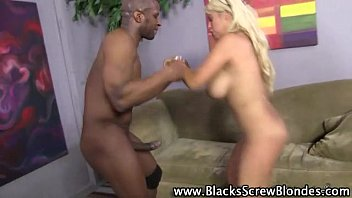 interracial slut black cock cum drinking