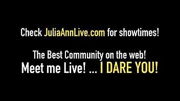 world famous milf julia ann wants your hot.