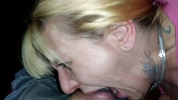 wife shannon takes a mouth full of husbands.