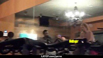 voyeur spy cam caught young teen couple fucking.