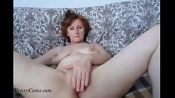 russian mom great tits spreading legs-.