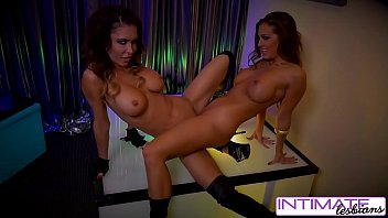 intimate lesbians - jessica jaymes and abigail mac.