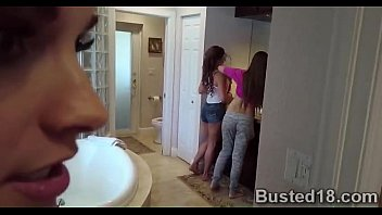 slutty babysitter got pumped by a horny milf.