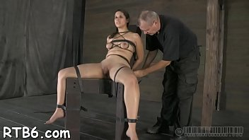 naughty slut tears up during her amoral pussy.