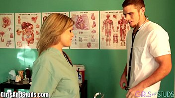 girlsandstuds couple playing doctor
