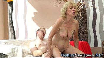 granny rides for creampie