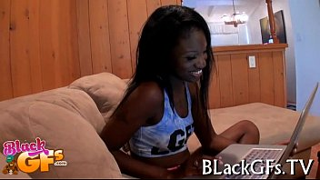 moist black girl licks and rides