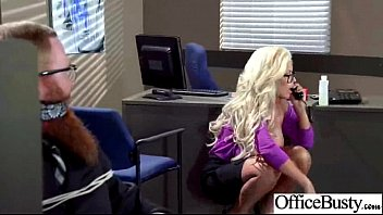 (bridgette b) big juggs office girl enjoy hard.