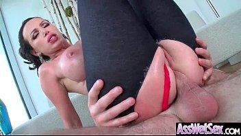 (nikki benz) huge ass oiled sexy girl enjoy.
