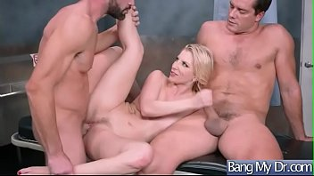 gorgeous patient (ashley fires) get nailed hardcore by.