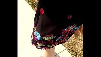 sexy paty saliendo de trabajar vestido.