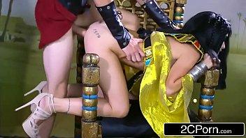 egyptian goddess rina ellis loves big.