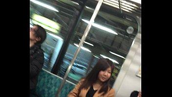 pantyhose japanese train 7