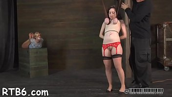 hot hotty is tearing up from her hardcore punishment