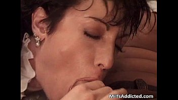 great short haired milf got banged.