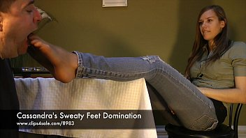 cassandra'_s sweaty feet domination - www.clips4sale.com/8983/15844880