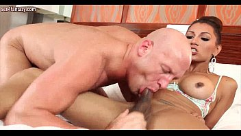sexy shemale licks and fucks tight.