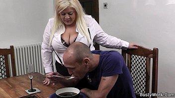 boss bangs hot blonde bbw in.