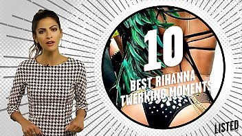 10 best rihanna twerking moments 1080p.