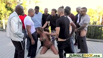 gorgeous brooklyn chase has jungle fever