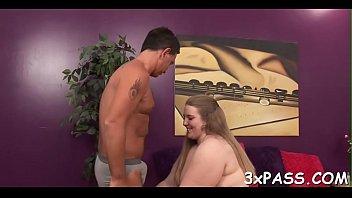 hot interracial sex between dark chubby girl and.
