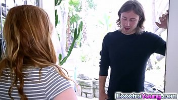 redhead alex tanner fucks with her sis hot bf