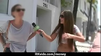 stunning euro teen gets talked in to giving.