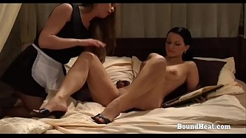 on consignment 3: lesbian maid licks and fingers.