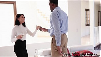 hot babe adriana seduces her client and sucks.