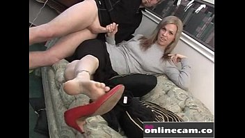 sexyy hose tease stockings foot fetish porn video.