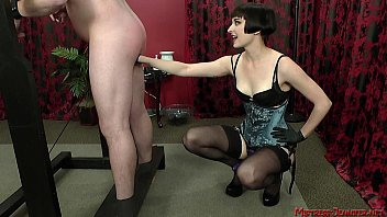 mistress vera femdom fun with slave.
