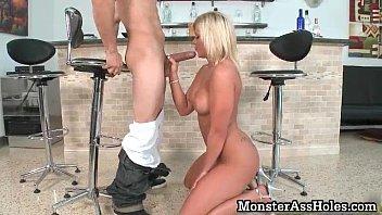 hot blonde teen slut with big.