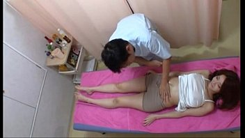 amazely sexy asian girl gets excited in massage.